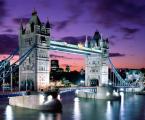 London Evening-Tower Bridge-England